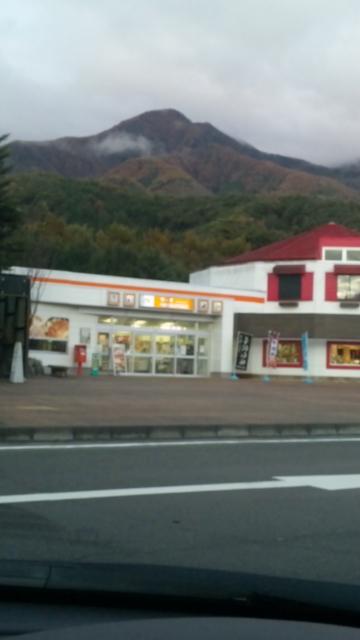 駒ヶ岳SAの紅葉