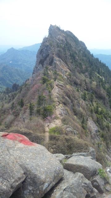 四国四県最高峰登頂
